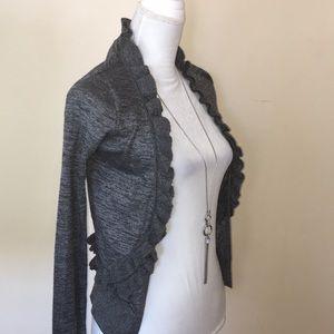 J.Crew sweater cardigan.Gray. Size ax's